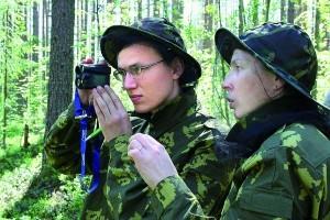Полевая коллективная тренировка по организации и ведению лесопатологического мониторинга